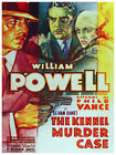 5416.William powell.the kennel murder case.POSTER.Decoration.Graphic Art