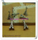 15/50pcs 16x9mm Antique silver lovely ancient Egyptian small tower Charm pendant