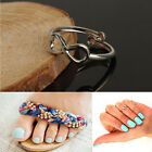 Simple Retro Design Toe Ring Adjustable Foot Jewelry Gifts For Women Tide