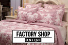Brand New! 100% Cotton Classic French Toile De Jouy Red Patchwork Bedspread Set