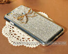 For iPhone 5/ 5S / 6/ Plus Case Bling Claw Set Bow Clear Crystal Back Case