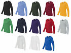 Gildan Ladies Sweater Heavy Cotton Missy Fit Womens Long Sleeve T-Shirt - 5400L