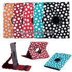 Luxury PU Leather Polka Dot Magnetic Stand Case Cover For Apple iPad 5 Air Gen