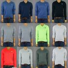 NWT HOLLISTER HCO MENS SEAGULL CREW / V-NECK MUSCLE FIT SWEATER S,M,L,XL
