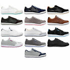 ASHWORTH CARDIFF SPIKELESS MENS GOLF SPORT SHOES - WATERPROOF LEATHER NEW SIZES