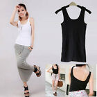 Fashion Womens Sexy Low Cut Vest U-Neck Blouse Sleeveless Tank Camisole Top