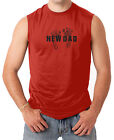 New Dad - Father's Day Papa Daddy Birthday Men's SLEEVELESS T-shirt