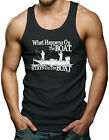 What Happens On The Boat, Stays On The Boat Men's Tank Top T-shirt