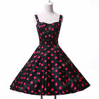 50S 60s DRESSES>Vintage Style Swing Pinup Housewife Party PROM Dress