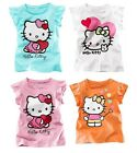 Hello Kitty Shirt T-Shirt Short Sleeve Outfit Girls, Kids, Baby, Costume 2T-6