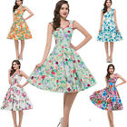 50's 60s Vintage Dresses Rockabilly Retro Swing pinup Housewife Party Prom Dress