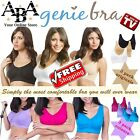 Genie Bra 3 pack, PADDED, original 3 pack & colour 3 pack, genuine genie