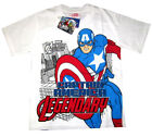 Boys Avengers Captain America cotton t-shirt Size 6,8,10,12 Age 4-8y Free Ship