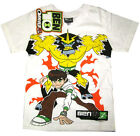 BEN 10 OMNIVERSE SHOCKSQUATCH Boys cotton t-shirt Sz 6-8-10-12 Age 3-7y FreeShip