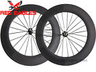 25mm wide U Shape 88mm Tubular carbon bike road wheels Novatec A271SB/F372SB hub