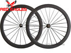 25mm width U Shape 50mm Tubular carbon bicyle road wheelset + aero spokes