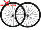 25mm width U Shape 38mm Tubular carbon bicycle road wheels