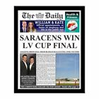 Personalised Rugby Union Newspaper with Photo Gift Ideas for Rugby Fans