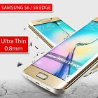 New Ultra thin Slim Clear Transparent Gel Case cover for Samsung S6 S6 Edge