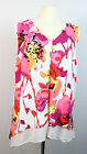 New WORTHINGTON Chiffon Double Layer Floral Tank Top 1X/2X/3X FREE SHIP