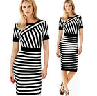 MOTHER'S DAY GIFT~ Celeb Women Bodycon Bandage Casual Business Pencil Midi Dress