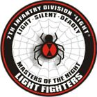 U.s. Army 7th Infantry Division Light Window Wall Vinyl Decal Sticker Military