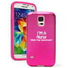 For Samsung Galaxy S3 S4 S5 S6 Shockproof AS Hard Soft Case Nurse Super Power