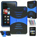 ROBOT SHOCK PROOF BUILDER HEAVY DUTY TOUGH CASE COVER STAND FOR KINDLE FIRE HD