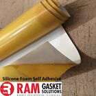 Silicone Foam Sheet High Temperature White Food Quality Adhesive {SIF11-}