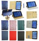 7 - 8 Inch Pu Leather  Wallet Case Cover with Card Slots for Various Tablets