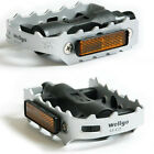 Slive Cycling Road / MTB Bike Bicycle Aluminum alloy Pedals 9/16 Axle Foot Tread