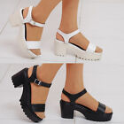 2spd08134 7cm platform heel straped sandal upto US9 Made in Korea