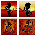 AFRICAN MAN/WOMAN DESERT LADIES CERAMIC WALL TILE/COASTER~MOSAICS~NEW~HOME DECOR