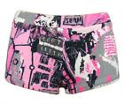 "ROBERTO CAVALLI ""Sexy Psychedelia"" womens hot pants shorts bermudas (rose) NEW"