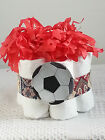 Mini Sports Baby Diaper Cake Baby Shower Centerpiece Gift