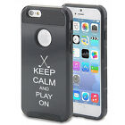 play for pink golf - For iPhone X SE 5s 6 6s 7 8 Plus Shockproof Impact Hard Case Keep Calm Play Golf