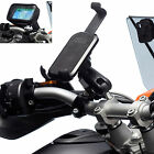 Motorcycle Clamp Bolt Extended Mount + One Holder for Samsung Galaxy Note 3