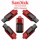 Cruzer Switch SanDisk USB Flash Pen Memory Drive Stick SDCZ52 4G/8/16/32/64GB