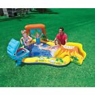 Inflatable Kids Swimming Pool Water Slide Park Play Center Toddler Backyard New cheap