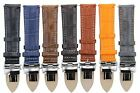 18,19,20,20,21,22,24MM LEATHER BAND STRAP DEPLOYMENT CLASP FOR ZENITH 3B