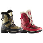 SOREL CHILDRENS TIVOLI II GLITTER SNOW BOOTS - NEW YOUNG GIRLS WATERPROOF SHOES