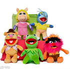 "Disney Muppets Flopsies 10 "" Soft Plush Toy Kermit Miss Piggy Gonzo Fozzie Bear"
