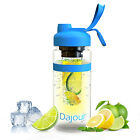 Water Bottle with Fruit Infuser Sport Outdoor 32 oz BPA Free Sports Weight Loss