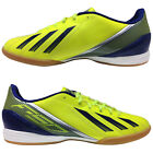 ADIDAS MENS F10 INDOOR SPORTS SHOES - NEW FOOTBALL LIGHT BREATHABLE COURT SHOES