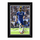 Personalised Chelsea FC Football Club Cesc Fabregas Autograph Photo Framed