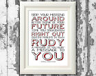 The Specials A Message To You Rudy Song Lyric Posters Prints Typography Design