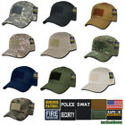 RAPDOM Tactical Team SWAT Operator Cap Military Hat w/ Velcro Panels