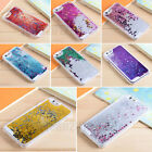 Fashion Dynamic Hourglass Bling Glitter Star Quicksand Smart Phone Case Cover