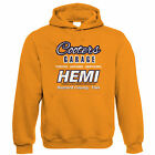 Cooters Garage, Mens Hemi Muscle Car Hoodie, Gift for Him Dad