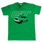 1275 GT, Mens Classic Car T Shirt - Clubman Gift for Dad Him Birthday